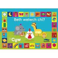 Beth welwch chi?
