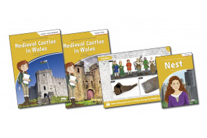 Travelling back to the Middle Ages Pack: Castles in Wales