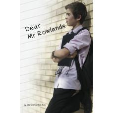 Dear Mr Rowlands