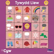 Mat Rhaglennu Cyw: Tywydd Llew
