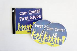 CD Cam Cyntaf: Caneuon hwyliog i blant 3-7 mlwydd oed