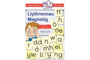 Tric a Chlic - Llythrennau Magnetig